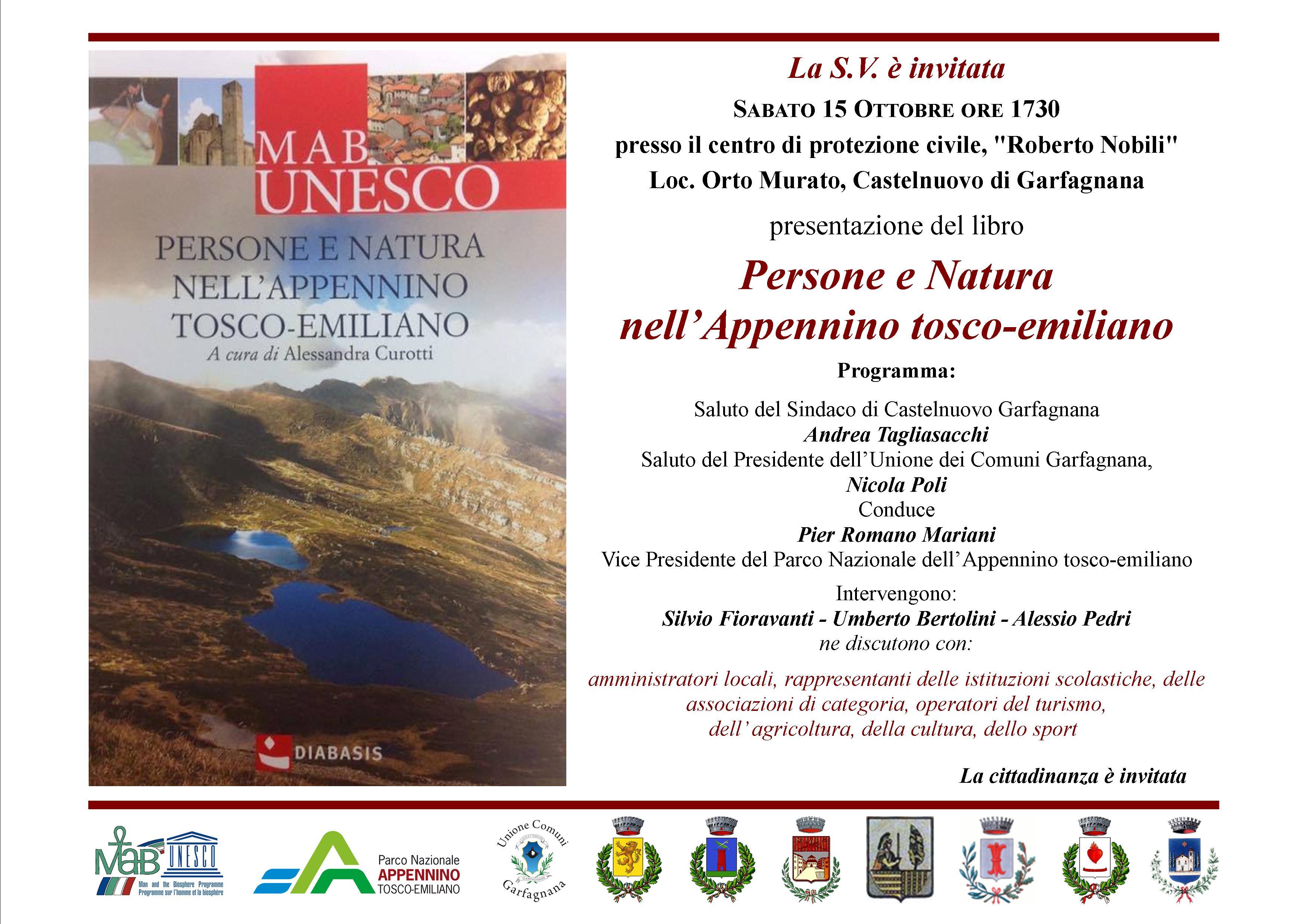 Invito Sabato 15 Persone e Natura MAB Unesco